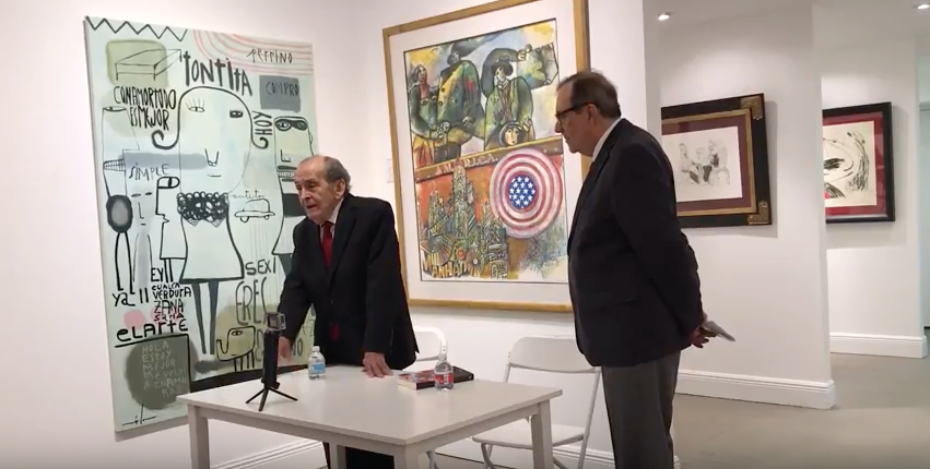 Dialogue between two Carlos: Carlos Rojas & Carlos Alberto Montaner